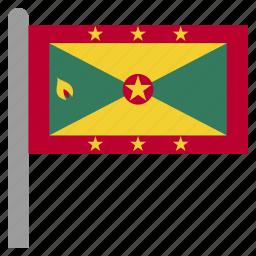 caribbean, east, grd, grenada icon