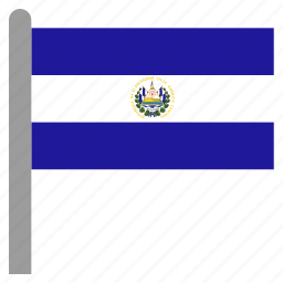 america, central, el, salvador, slv icon