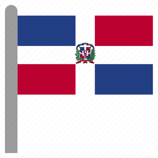 caribbean, dom, dominican, republic icon