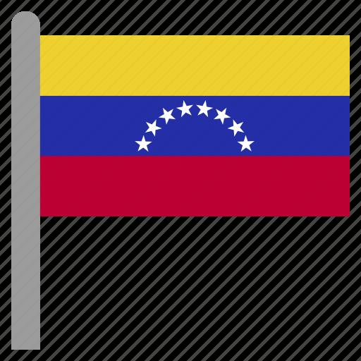 america, south, ven, venezuela icon