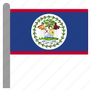 america, american, belize, blz, central icon