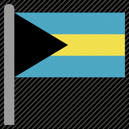 bahamas, bahamian, bhs, caribbean icon