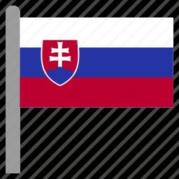 europe, slovakia, slovakian, svk icon