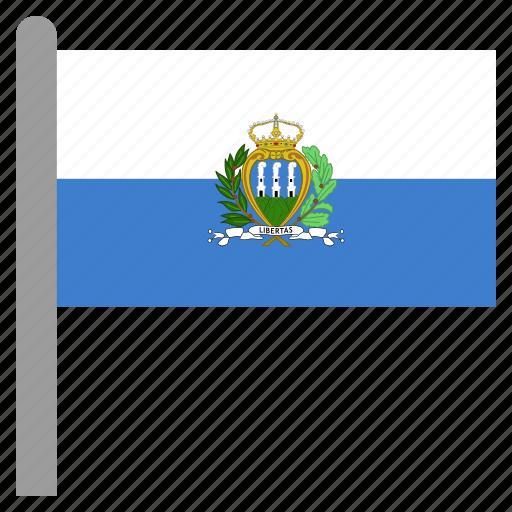 europe, marino, san, serene icon