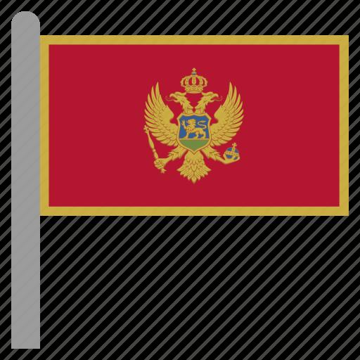 balkans, mne, montenegro icon