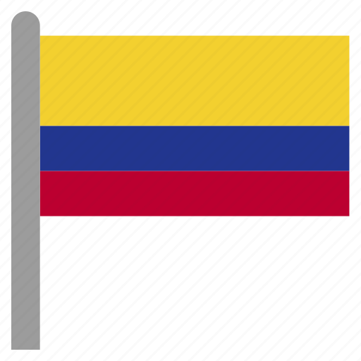 america, col, colombia, colombian, south icon