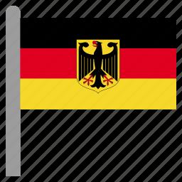 deu, europe, german, germany icon