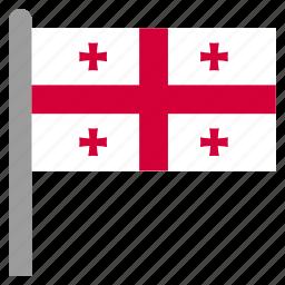 geo, georges, georgia, georgian icon