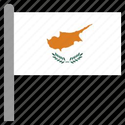 cyp, cyprus, europe, europen icon