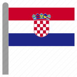 croatia, croatian, europe, european, hrv icon
