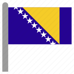 and, balkans, bih, bosnia, herzegovina, sarajevo icon