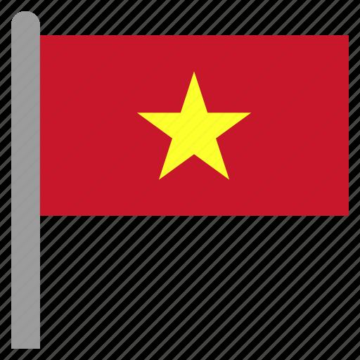 asia, asian, vietnam, vietnamese, vnm icon