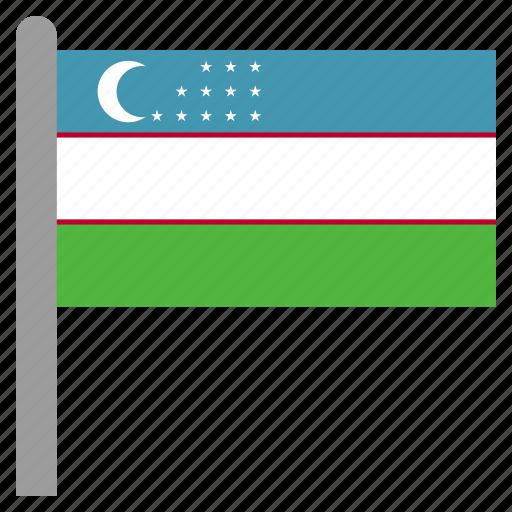 asia, asian, tashkent, uzb, uzbek, uzbekistan icon