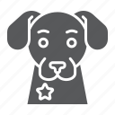 animal, canine, cop, dog, guard, pet, police icon