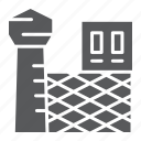 bars, building, crime, jail, police, prison, security icon