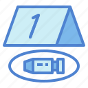crime, evidence, index, scene icon