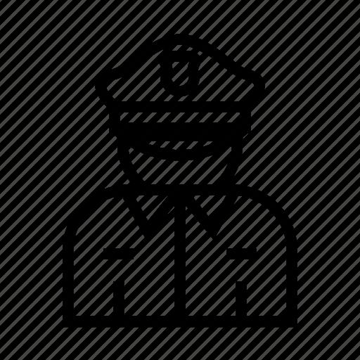 Cop, enforcement, justice, law, police icon - Download on Iconfinder