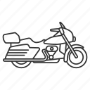 bike, biker, motor, motorbike, motorcycle, transport, vehicle icon