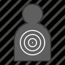 aim, goal, policeman, target