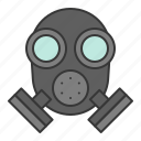 cop, gas mask, mask, police mask, policeman icon