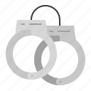 bond, chain, cuff, handcuff, police, shackle icon