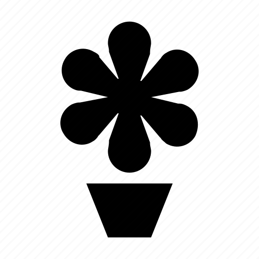 ecology, flower plant, foliage, gardening, potted plant icon