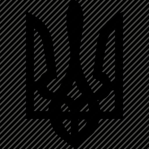geo, national, ornament, sign, ukraine icon