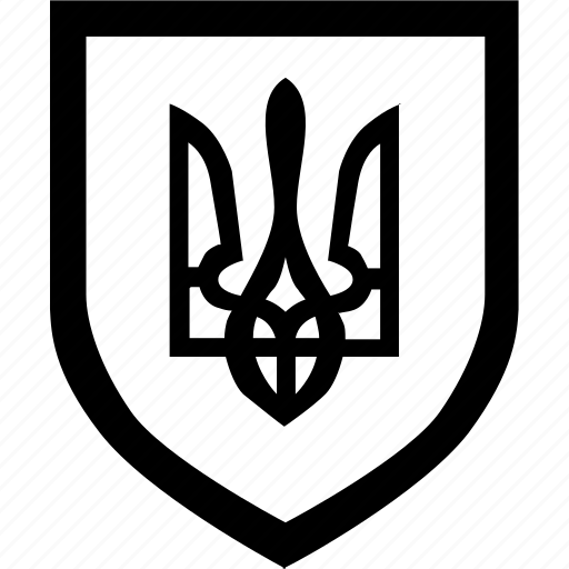border, forces, law, shield, ukraine icon