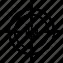 aim, national, politics, sign, target, ukraine, war icon