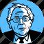 avatar, bernie sanders, candidate, democrat, independent, man, politician, progressive, sanders, senator, socialist, vermont icon