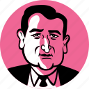 republican, politician, candidate, conservative, senator, tea party, ted cruz, man, portrait, male, congress, government, person, avatar