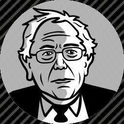 avatar, bernie sanders, candidate, congress, democrat, man, politician, politics, portrait, progressive, senator, socialist icon