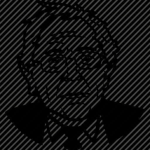 bernie, bernie sanders, candidate, democrat, politician, portrait, progressive, senator, socialist, vermont icon