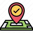 location, map, pin, place, politics, vote, voting icon