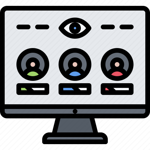 candidate, chart, monitoring, politics, rating, vote, voting icon