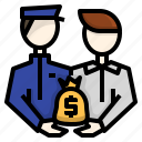 bad, bribe, business, corruption, dishonesty, money, sob