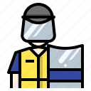 avatar, guard, police, politie, protect, protest icon