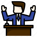 avatar, debate, election, politician, politics, president