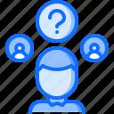 candidate, choice, politics, question, vote, voter, voting icon