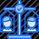 candidate, politician, politics, scales, vote, voter, voting icon
