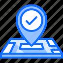 location, map, pin, place, politics, vote, voting icon