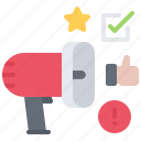agitation, politics, promotion, speaker, vote, voting icon
