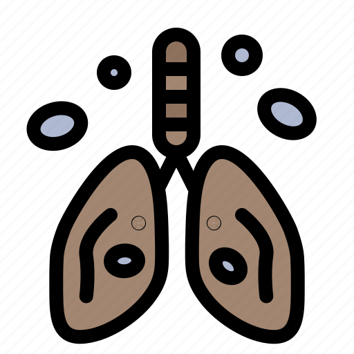Cancer, heart, lung, organ, pollution icon - Download on Iconfinder