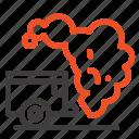 dump, environment, garbage, pollution icon