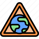earth, gas, pollution, waste icon