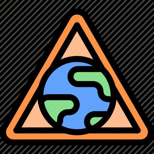 earth, gas, pollution, waste icon