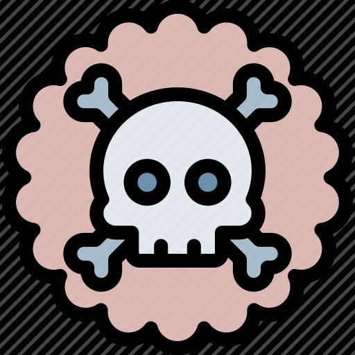 gas, poisonous, pollution, waste icon