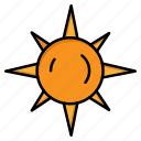 day, light, sun icon