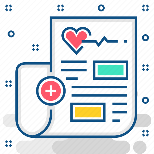 news, report, treatment icon