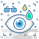 care, eye, hospital, lasik, medical, medicine icon